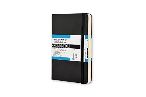 Moleskine City Notebook Montreal, Pocket, Hardcover, schwarz