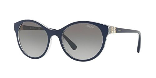 Vogue Gradient Round Women's Sunglasses - (0VO5135SB25631152|52|Grey Gradient Color) image