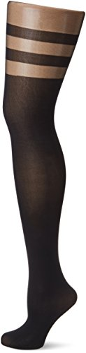 Fiore Damen Feinstrumpfhose DULCINEA/GOLDEN LINE CLASSIC Strumpfhose, 60 DEN, Schwarz (Black 001), Large (Herstellergröße:4)