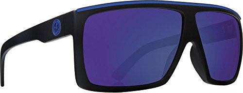 f7de504999 Dragon Alliance Fame Polarized Large Fit Sunglasses, H2O Matte Black, One  Size
