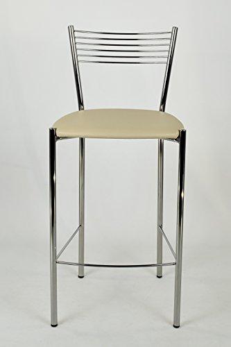 Tommychairs - Set 2 sgabelli design ELEGANCE alti e moderni per ...