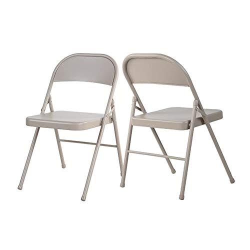 KLEDDP Klappstuhl tragbarer Tisch und Stuhl Indoor Outdoor Chair eine Tasche 2/4/6 Stapelstuhl (Color : 2 Chairs) - Stapelbarer Outdoor-stuhl