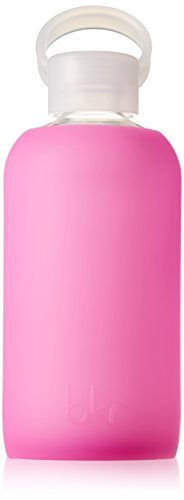 BABY@bkr@botella cristal+silicona, 500 ml