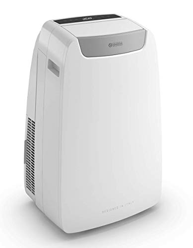 Olimpia Splendid 01918 Dolceclima Air PRO 14 HP Climatizzatore Portatile con Pompa di Calore 14.000 BTU/h, 3,52 kW, Natural Gas R290, Design Made in Italy, Bianco