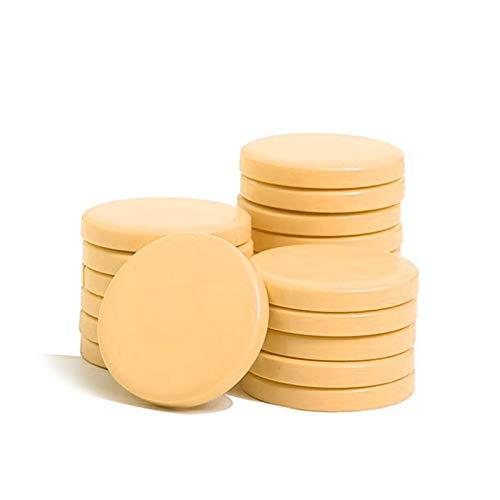 Ro.ial Warmwachs in Disk-Form für die Haarentfernung, gelb - 400g ! Anwendung ohne Enthaarungsstreifen !