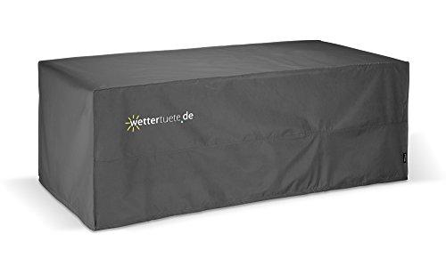 Wettertüte Grillabdeckung / Tischabdeckung 155x65x100 cm (BxLxH) ohne PVC, wasserdicht, atmungsaktiv, UV-Schutz