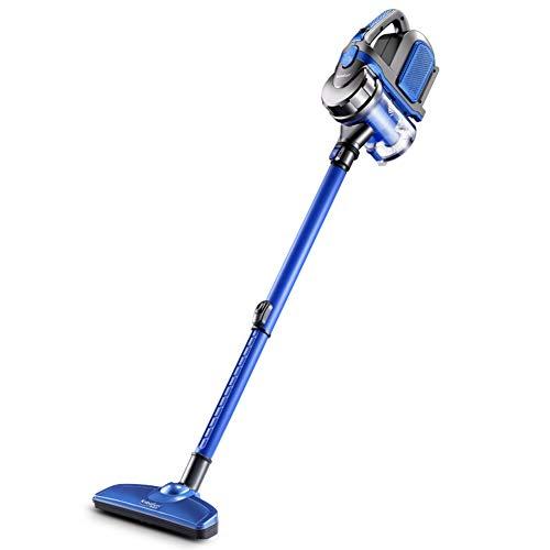 Or&dk con cavo 2 in 1 bastone leggero aspirapolvere portatile, tecnologia ciclonica filtro lavabile, 600w, 12kpa-blu