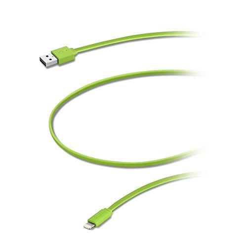 Aiino Cavo Lightning per trasmissione dati cable 1,2m MFI, Bianco Verde