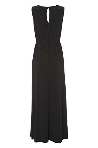 Roman Originals - Robe Femme Embelli à la Taille Longue - Noir Noir