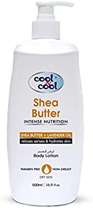 Cool & Cool Body Lotion Shea Butter, 50
