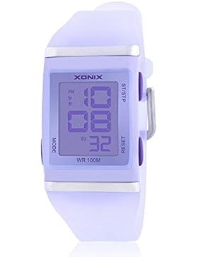 LEDWasserdichte Sportuhr/Jungen Kinder multifunktionale Diamond watch-I