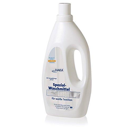 HAKA Spezialwaschmittel für weiße Textilien, 1-l-Flasche, direkt vom Hersteller