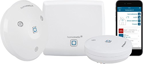 Homematic IP Smart Home Starter Set Wasseralarm - Intelligenter Alarm auch aufs Smartphone - 153405A0