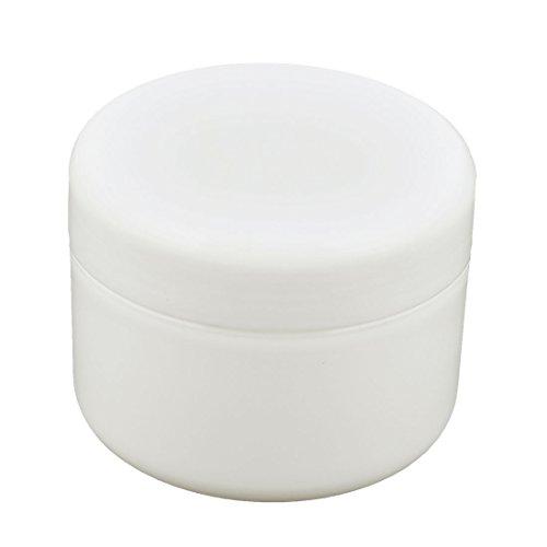 sourcingmap® Cosmétique Maquillage plastique pot vide pot Crème visage crème hydratante contenant bouteille