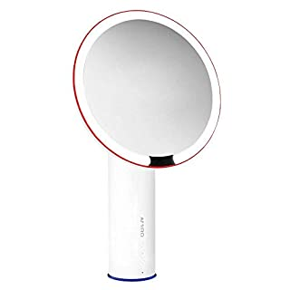 Amiro 8 inch Smart Lighted Vanity Makeup Mirror with Brightness Control(Daylight, Cool, Warm)