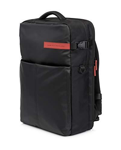 Hoch High Back Leder (HP Omen (K5Q03AA) Gaming Rucksack (für Notebooks) 43,94 cm (17,3 Zoll) schwarz)