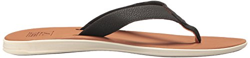 Reef Slammed Rover, Tongs Homme rouge/noir