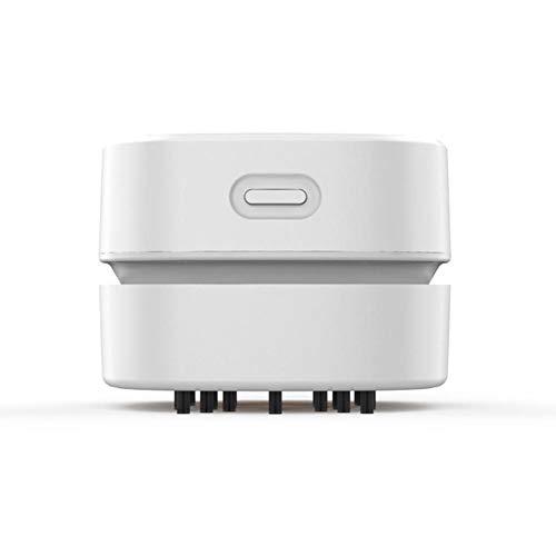 advicwon Aspirador Robot Potente aspiradora, aspiradora USB Recargable, 1400 mA de Capacidad de batería, con Alta Capacidad, pequeño tamaño y flexibilidad