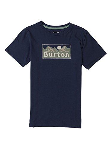 Burton Jungen Ralleye Shortsleeve T-Shirt, Mood Indigo, S (Burton Shirt Blau)