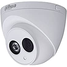 Dahua - Cámara Domo Profesional 4 Mpx IP POE, optica fija 2,8 mm