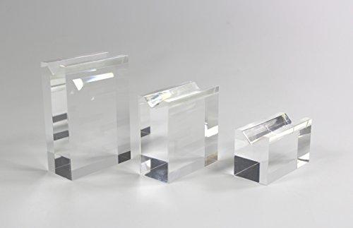 Set! 3 Acrylständer für Kugelschreiber, Füllfederhalter, Stifte, abgebildete Kugelschreiber sind...