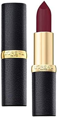 L'Oreal Paris Color Riche Moist Matte Lipstick, 240 Crimson En Scene,