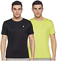 Amazon Brand - Symactive Men's Regular Fit Sports T-Shirt (Pack o