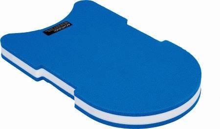 Aquatics Erwachsene Schwimmbrett Board Ergonomic, Blau/Gelb, 49029 -