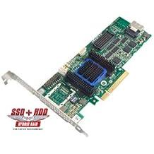 Adaptec RAID 6405512MB SATA3SAS 2.0tarjeta PCIe Controlador de almacenamiento–Perfil Bajo