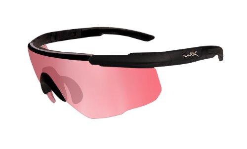 Wiley X Schutzbrille Saber Advanced, Matt Schwarz, M/XL, 304
