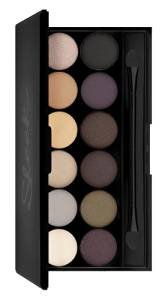 Sleek MakeUP iDivine Eyeshadow Palette Au Naturel 12 x 0.8g