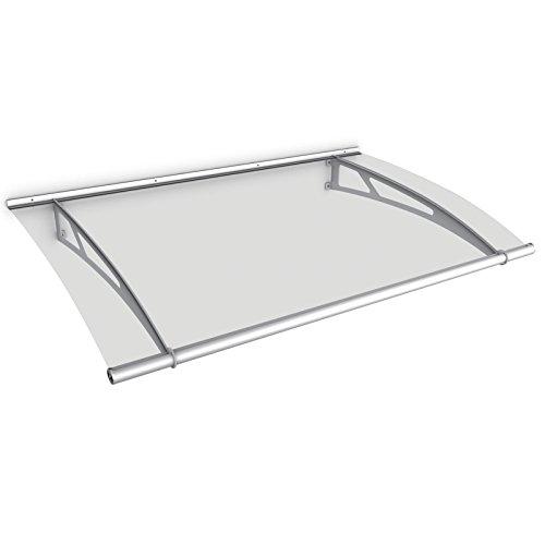 schulte haust r vordach acrylglas edelstahl pultvordach acrylglas klar 150 x 95 cm. Black Bedroom Furniture Sets. Home Design Ideas