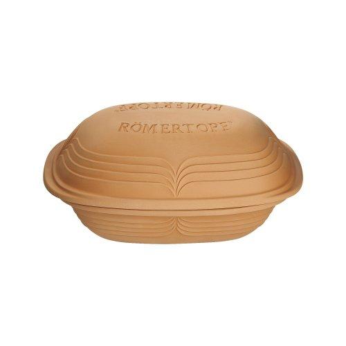 Römertopf Bräter Modern Look Keramik Dampfgarer 3 Liter