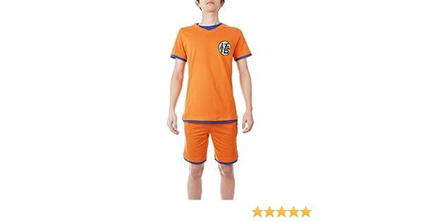 Größe: M Dragon Ball Schlafanzug Son Goku Sommer Pyjama XL