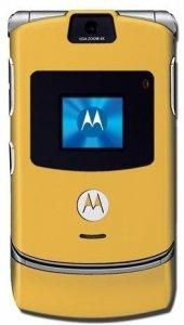 Motorola V3 Handy (GSM) goldfarben Motorola Razr V3i