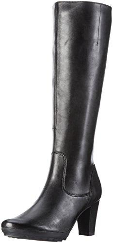 Caprice Damen 25600 Langschaft Stiefel Schwarz (BLACK NAPPA 022)