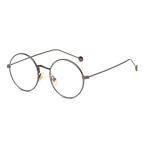 Kjwsbb Brillen für Frauen & Männer Frame Runde Bunte optische Frauen Brille 2019