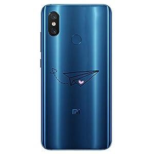 Oihxse Transparente Silicona Case Compatible con Xiaomi Mi 9 SE Funda Suave TPU Protección Carcasa Moda Dibujos Animados…