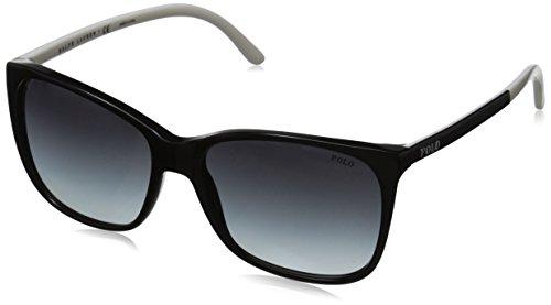 Polo Ralph Lauren PH4094, Occhiali da Sole Unisex-Adulto, Nero (Black 55298G), Taglia Unica (Taglia Produttore: One Size)