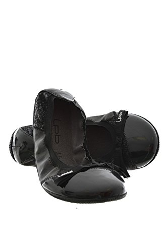 Les p'tites bombes Ballerine, in mogano, colore: nero, Nero (nero), 37