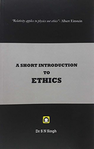A Short Introduction to Ethics