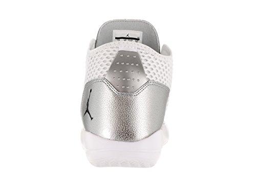 Nike Jordan Reveal, Chaussures de Sport-Basketball Homme, Taille Blanc Cassé - Blanco (White / Blk-Mtllc Slvr-Infrrd 23)