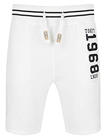 Tokyo Laundry Axial Jogger Shorts in Ivory S