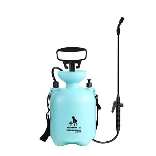 QAQ Gartenluftdrucksprüher 3L Mit Sicherheitsventil Geeignet Für Gartenbewässerung Düngung,Blue,36 * 18 * 18cm(3L) -