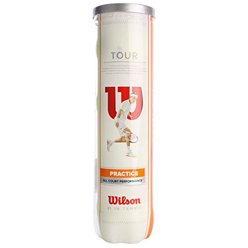 Tour Practice, gelb, 4er Dose, WRT114500 ()