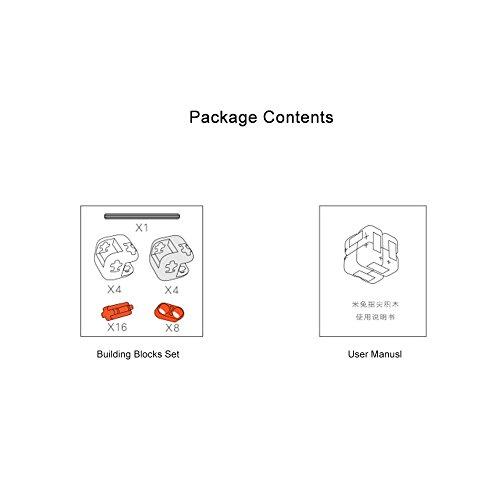 Zantec Regalo di Compleanno Original Xiaomi MITU Cubes Spinner Finger Bricks Giocattoli Intelligenti Intelligenza Fidget Magic Cubes Infinity Toys Ansia da Stress - 6