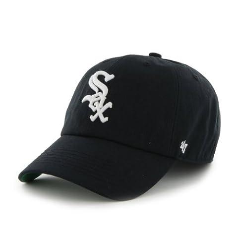 MLB Chicago White Sox Cap, Black, Large