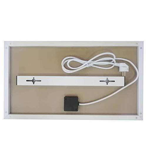 Infrarot-Heizung-Panel Raumheizung Elektrische Heizungen 180watt Weiß Rahmen Lavendel Bild 4*