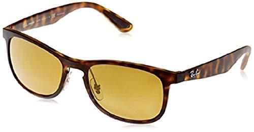 Ray-Ban Herren Sonnenbrille  RB4263 Chromance, Tortoise, 55
