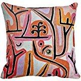 Paul Klee Art Park bei Lu r9570679 C7bee4e73 a6827e42263649b3 i52ni 8byvr Pillow Case 18 * 18 \